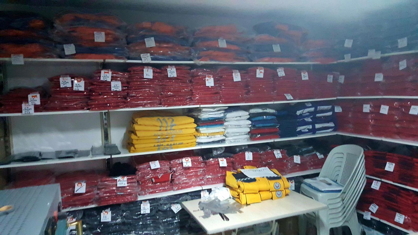 Demirtepe Tekstil İş Yeri Görüntüleri ve Çalışanlarımız